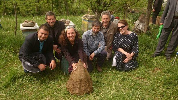 Arılar için Makedonya'daydık