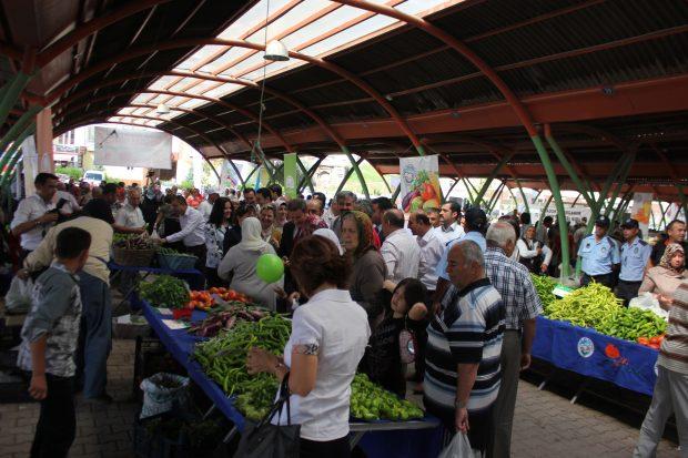 Kayseri'de, Talas ve Kocasinan %100 Ekolojik Pazarları açıldı.