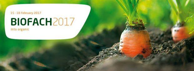 BIOFACH 2017 Nürnberg 15-18 Şubat