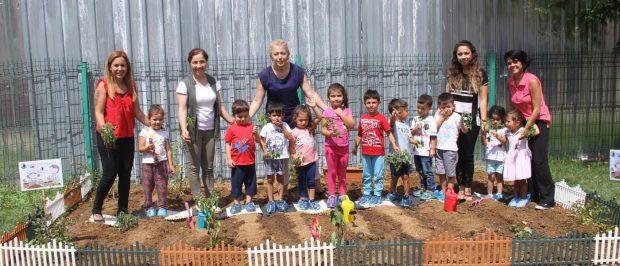 Kartallı çocuklar ekolojik üretimi öğreniyor
