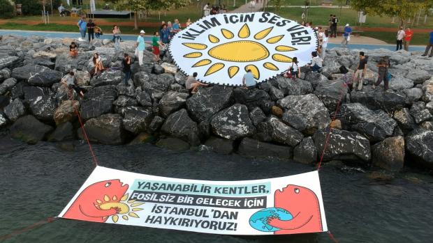 Türkiye 15 ayrı noktada iklim için ses verdi