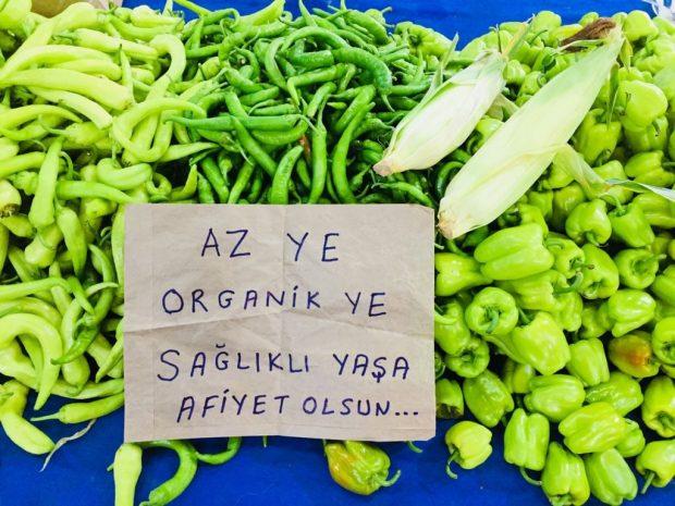 Organik ürün ve %100 Ekolojik Pazar fiyatları konusunda açıklama