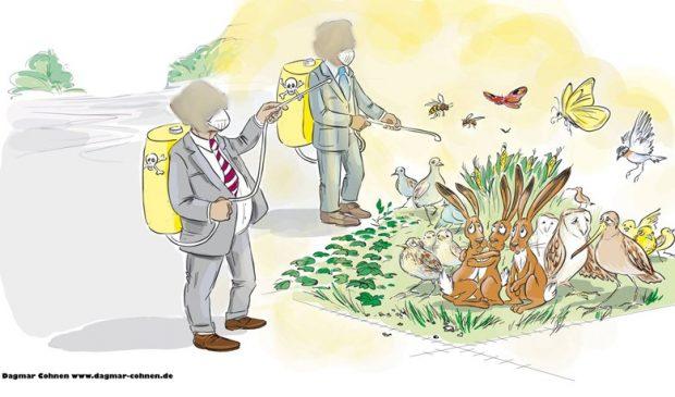 Doğayı ve yaşamı korumak için pestisit bağımlılığından kurtulmalıyız!