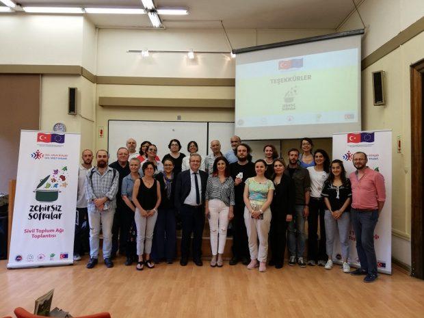 Zehirsiz Sofralar Sivil Toplum Ağı'nın ilk toplantıları yapıldı