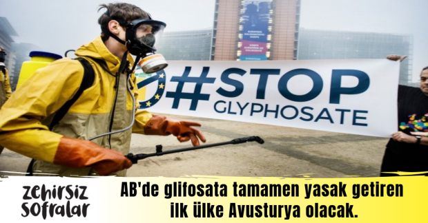 Avusturya glifosatı tamamen yasaklama yolunda