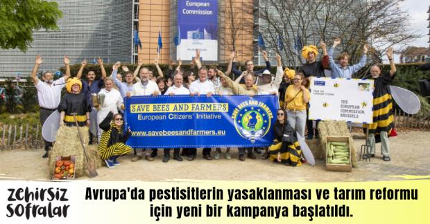 Avrupa'da yeni kampanya: Arıları ve Çiftçileri Koruyalım!
