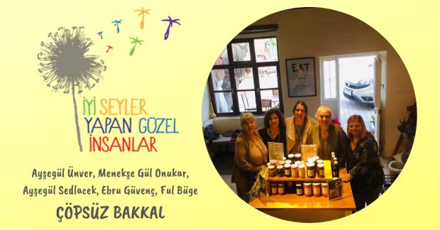 Türkiye'nin İlk Sıfır Atık Bakkalı: Çöpsüz Bakkal