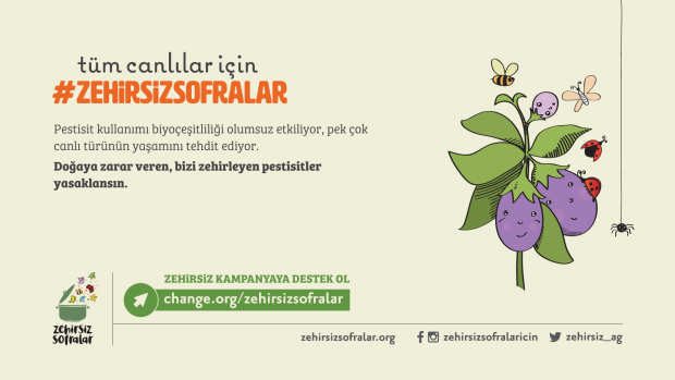 Çiftçilere, Tüketicilere ve Arılara Çok Zararlı 13 Pestisit Derhal Yasaklansın