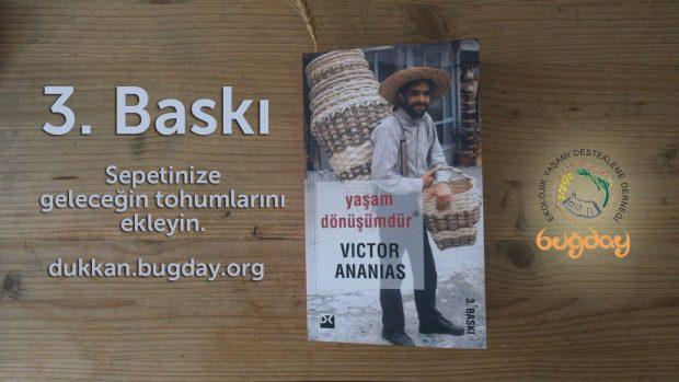 """Victor Ananias'ın Kitabı """"Yaşam Dönüşümdür""""ün Üçüncü Baskısı Çıktı"""