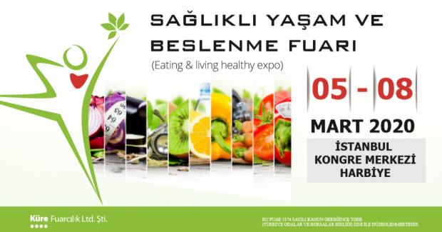 Sağlıklı Yaşam ve Beslenme Fuarı'nda Buluşuyoruz