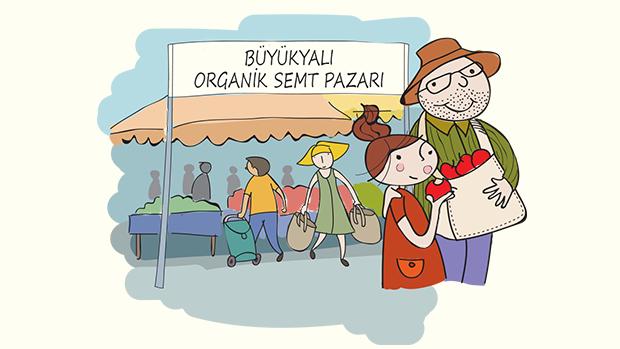 İstanbul'a yeni organik pazar!