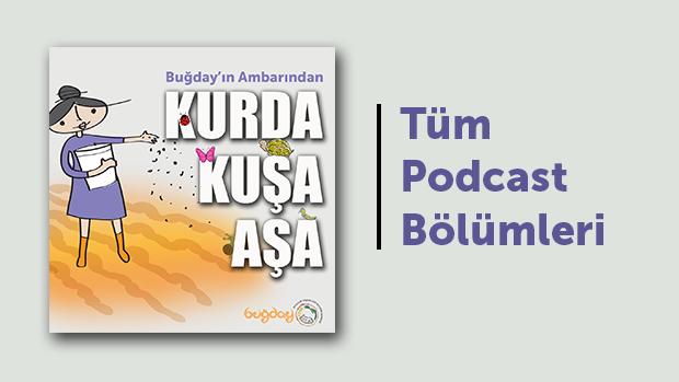 """""""Buğday'ın Ambarından Kurda Kuşa Aşa"""" Podcast Serisi"""