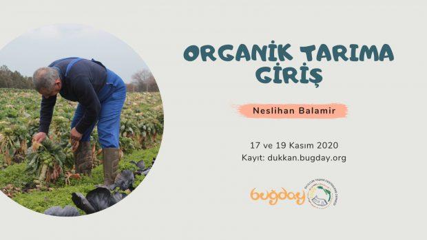 Organik Tarıma Giriş – 17 ve 19 Kasım 2020
